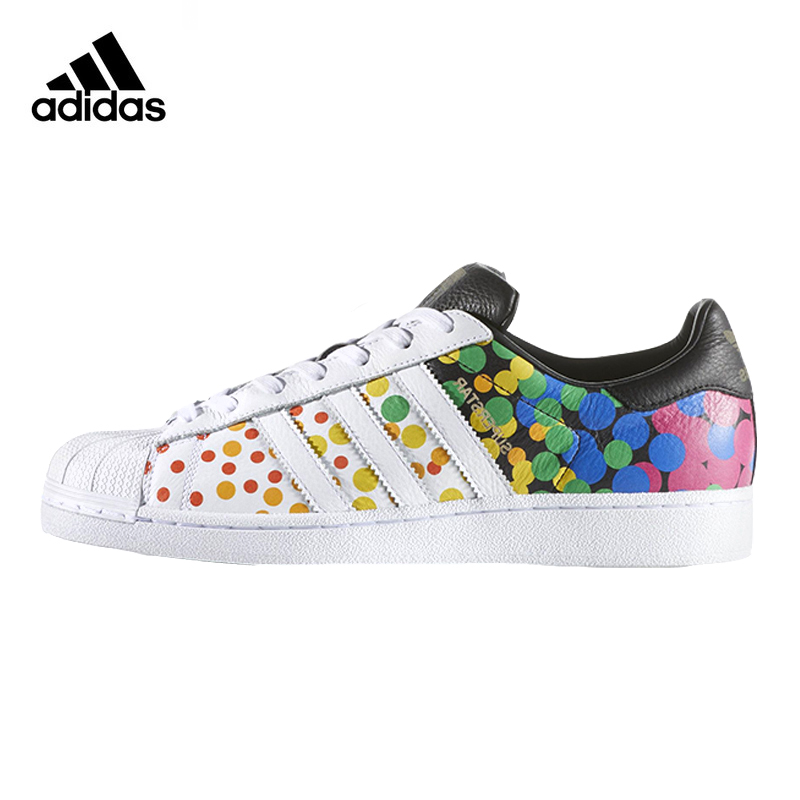 Originals Adidas Sneakers for Unisex Sports Shoes Color Pots Men Skateboarding Shoes PU Low-tops Genuine Adidas Women Sneakers adidas samoa kids casual sneakers