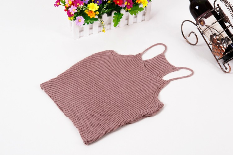 HTB1ovssLFXXXXavXFXXq6xXFXXXR - FREE SHIPPING Women's Short Cropped Knitted Tank Tops JKP308