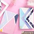 Mini4 Искусств и Геометрическая Элемент Моды Таблетки Аргументы За Apple iPad Pro мини Воздуха Air2 Tablet Case Откидная Крышка Ультра тонкий Смарт крышка
