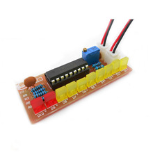 LM3915 interest 10 section audio level indicator kit parts and components DIY Kit Level Indicator Electronic Production Suite