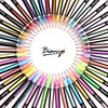 Bianyo Art Marker Watercolor Pens 48 Different Type Color Touch Marker Drawing Copic Markers Colored Pens