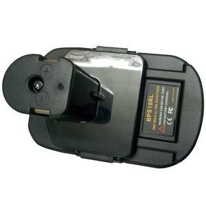 Image 4 - BPS18RL Battery Adapter For Black&Decker For Porter Cable For Stanley 20V Lithium Battery For Ryobi 18V P108 Battery Batteries