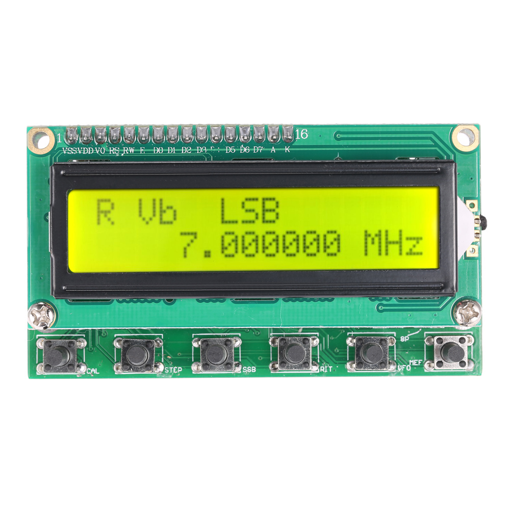 0-55MHz LCD DDS Signal Generator Module Based on AD9850 frequency generator dds function signal generator signal generator dds module dds signal source ad9850 0 30m