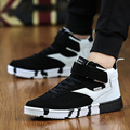 Men Shoes New Autumn Fashion Men Casual Shoes Lace-up Warm Brand Winter Shoes Mixed Color High Top Flat with Mens Shoes