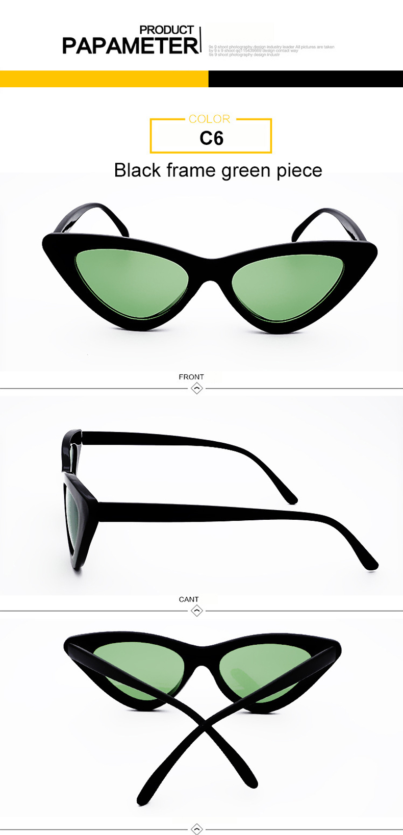 HTB1ovu2jqigSKJjSsppq6ybnpXan - WHO CUTIE 2018 Brand Designer Black Cat Eye Sunglasses Women Cool Small Cateye Frame Sun Glasses Fashion UV400 Shades WG-008