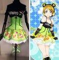 Lovelive! amor vivo juegos despertar Koizumi Hanayo luz arriba el vestido de deslizamiento vestido de la te uniforme trajes de Cosplay traje