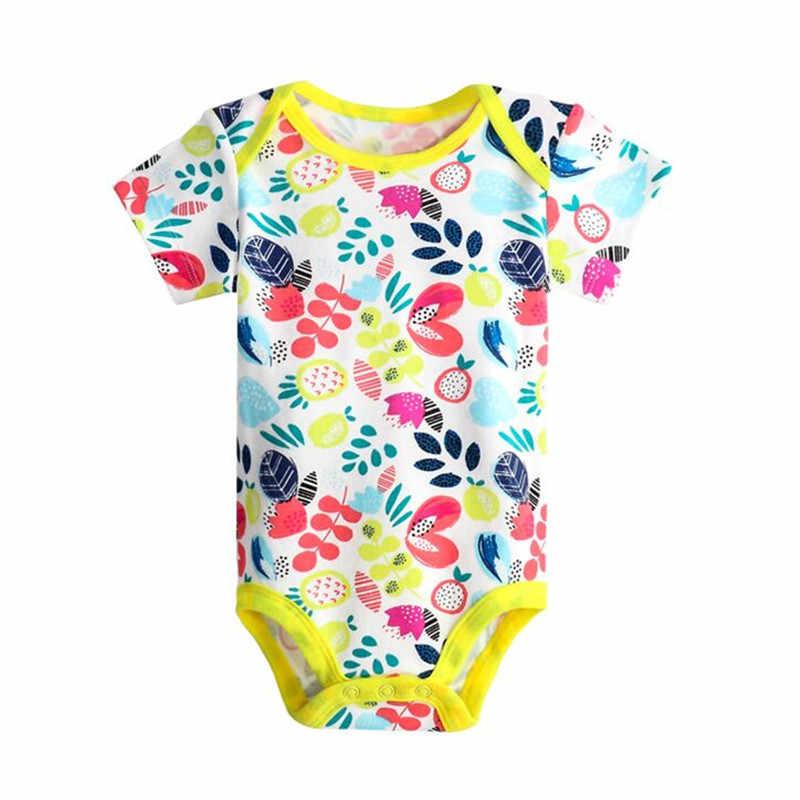 ... Lawadka новорожденного младенца хлопка боди для мальчиков и девочек  Одежда для новорожденных комбинезон короткий рукав облегающий ... 5cc424456e671