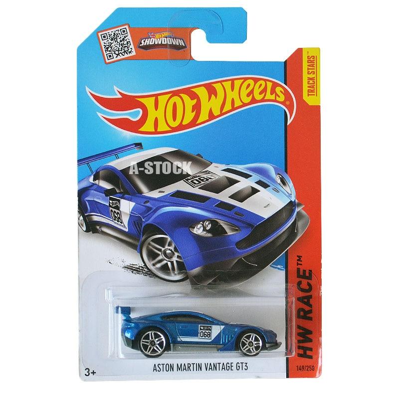 Hot Wheels Model Car Aston Martin Vantage GT3 Car Children