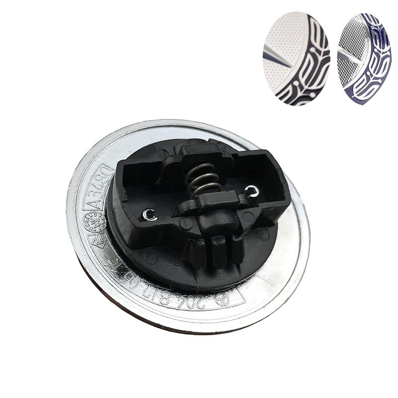 10pcs/lot Dark Blue Hood Emblem Badge For Mercedes w124 w140 w163 w202 w203 w204 w210 w211 57mm hight quality