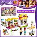 БЕЛА 10494 Совместимость Legoes Друзья Heartlake Супермаркет 41118 Строительный Кирпич Эмма Мвд Рис Игрушки Для Детей