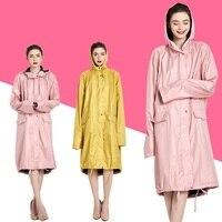 Long Rain Coats for Women Waterproof Rain Coat Outdoors Travel Camping Fishing Rainwear Hooded Ponchos Rain Cover Hiking