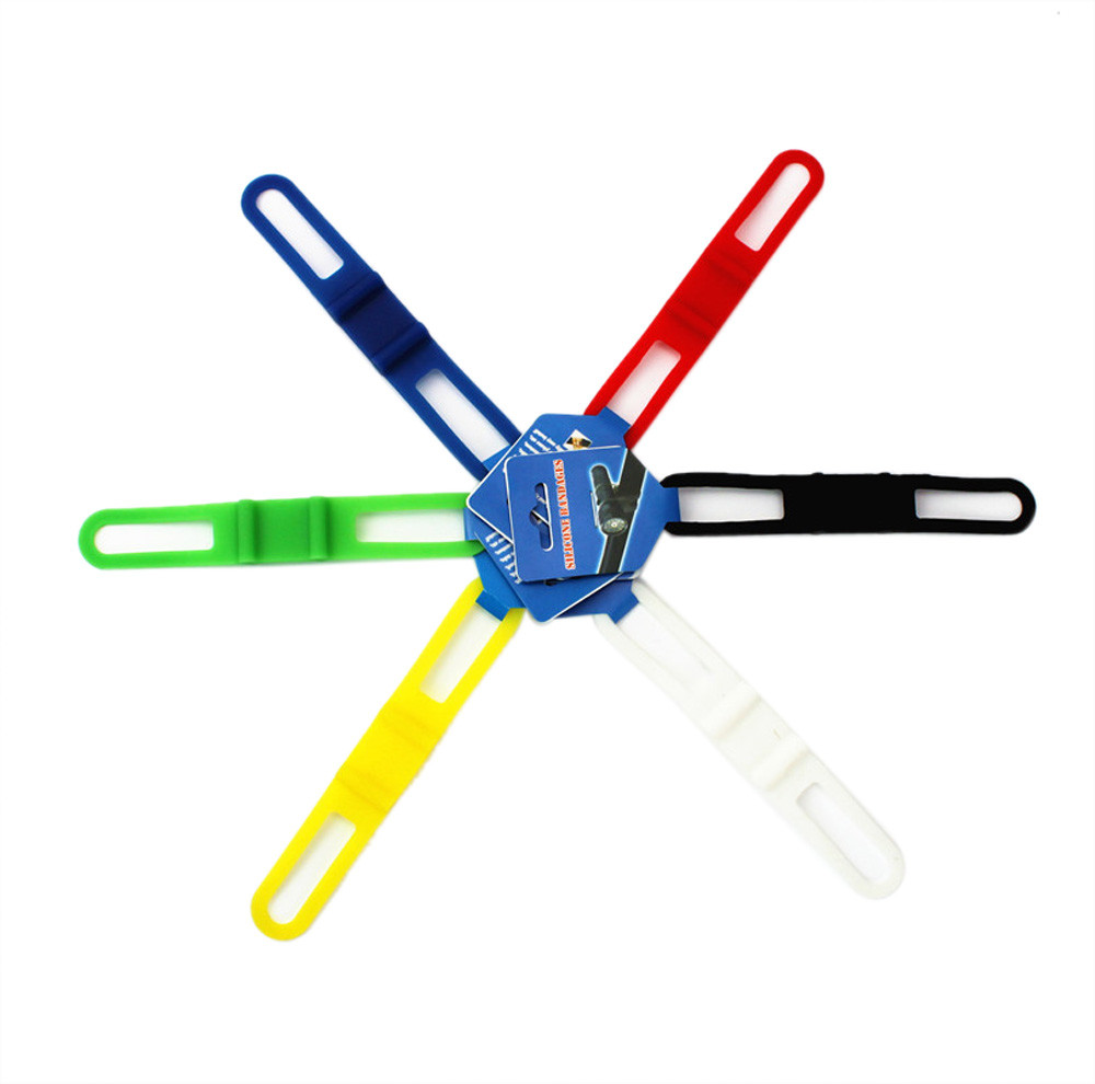 Universal Lighthouse Silicone Straps New Bicycle Accessories Lights Ciclismo Camping Sports Outdoor