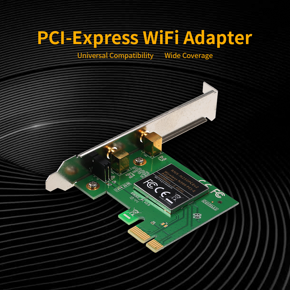 Worldwide delivery wifi adapter pcie in Adapter Of NaBaRa