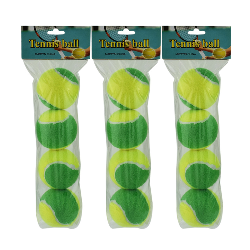 12pcs Beginner Child or Adult Training (Transition) Practice Tennis Balls (25%-75% Slower Ball Speed) 29
