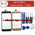 UMI Рим X Сенсорный Экран 100% Оригинальный Экран Digitizer Стекло панель Ассамблея Замена Для UMI Рим Х Мобильный Телефон Бесплатно доставка