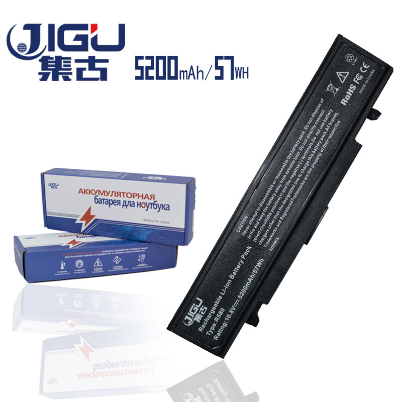 JIGU 6Cells Black Laptop Battery AA-PB9NS6B AA-PB9NC6B For Samsung R418 R420 NP300E NP-Q470 NP300E NP-Q470 300E4A-A02 NP-300V компьютерная клавиатура 100% samusng q470