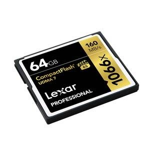 Image 4 - レキサー Cf カード 1066 × 64 ギガバイトまで 160 メガバイト/秒プロコンパクトフラッシュカードフラッシュメモリカードフル Hd /3D と 4 4k ビデオメモリアラム