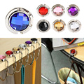 New 1 Piece Folded Handbag Bag Accessories Handy Little Hook Hanger Holder Alloy Fashion Crystal Rhinestone 7 Colors 35