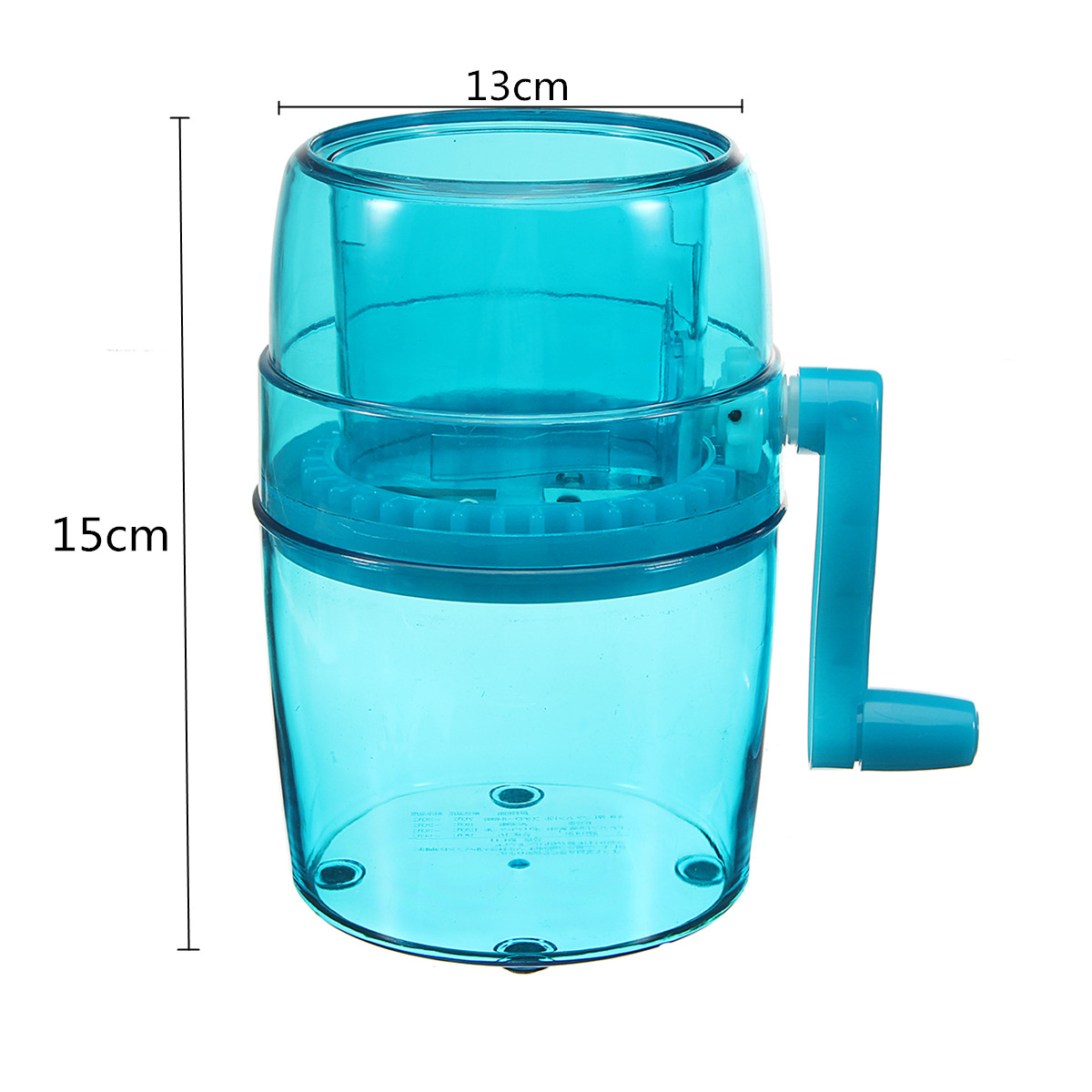 Kitchen Manual Ice Mud Candy Crusher Smoothie Maker Portable ...