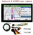 "7 ""pulgadas Android Coche Camión Pantalla Táctil LCD GPS Lots FM Navegación Navigator Mapa 3D"