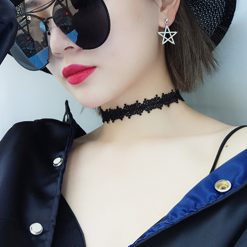 elastic choker necklaces