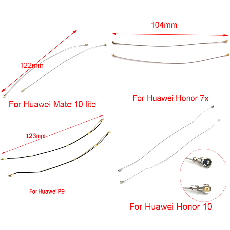 Inner Wifi Antenna Signal Flex Cable Wire Ribbon For Huawei P8 P9 P10 P20 Pro P Smart Mate S 10 Honor 8 10 Lite 6x 7X