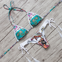 Sexy Brazilian Bikini Women Swimsuit Swimwear Bikini Set 2016 Biquinis Bandage Bathing Suit Beach Wear Maillot
