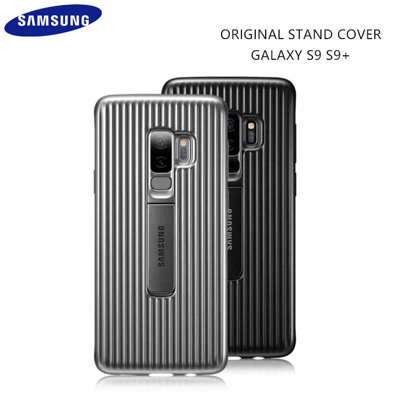 100% GENUINE Original Samsung Galaxy S9 S9+ S9 SM- G960 G965 Plus Standing Phone Case Ultimate Device Protection Cover