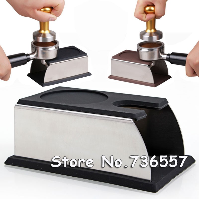 Free Shipping Black Espresso tamper holder support base rack without Coffee Temper and Handle
