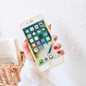 Image 5 - Plain Candy Bunte Farbe Coque für iPhone X Abstrakte Graffiti Telefon Fall auf für iPhone X 10 iPhone 6 6S 8 7 Plus xs max xr