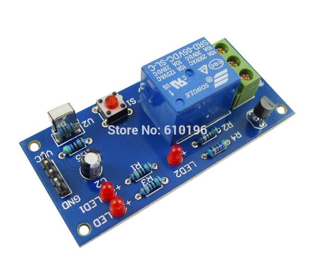 US $3 99 |1 Channel infrared Remote Control 5V Relay Module Learning IR  Switch Module-in Integrated Circuits from Electronic Components & Supplies  on