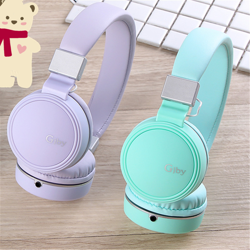 Luxury Beautiful Headband Stereo Headphoness