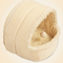 2016 new hot sale autumn winter teddy pet small dogs house cat bag kennel&pens dog bed tent PT127