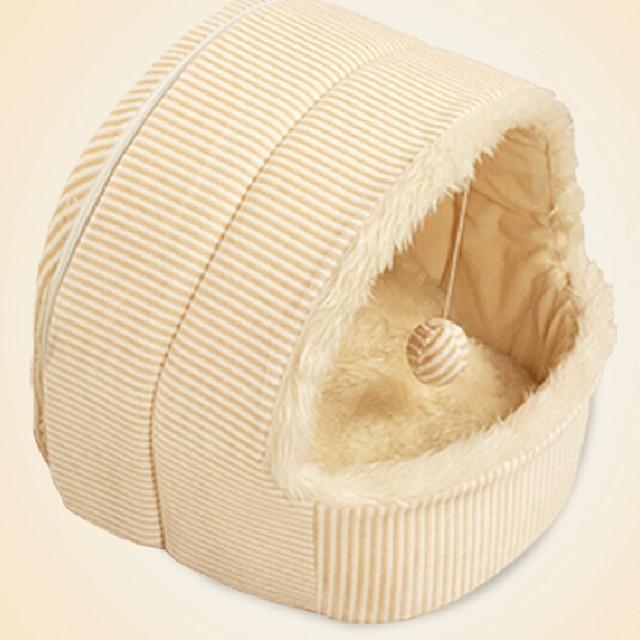 2018 nuova vendita calda di autunno di inverno di peluche pet cani di piccola taglia sacchetto di gatto di casa canile & penne cane letto tenda PT127