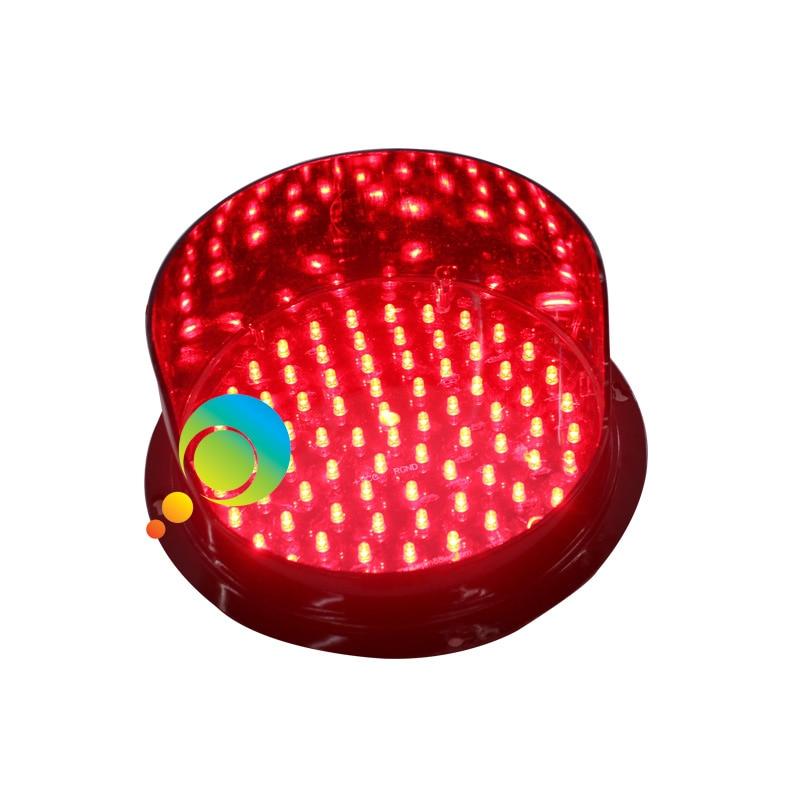 DC12V Or DC24V High Quality Decoration Light Red Color LED  Traffic Signal 200mm Traffic Light Lamp