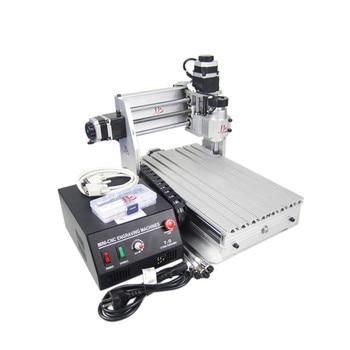3020 T-DJ Mini milling machine 3 axis CNC router lathe wood pcb plastic working 1