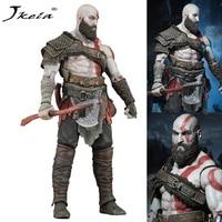 [Jkela] 18 cm alta calidad dios de la guerra Kratos figura de acción coleccionable modelo OriginalToy múltiples accesorios muñeca actividad