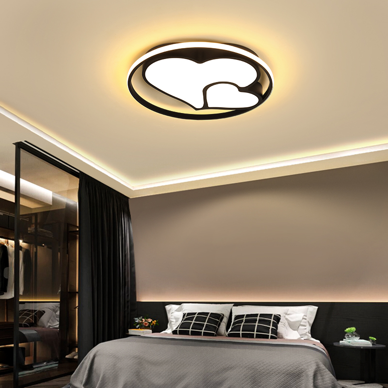Indirect Lighting Techniques And Ideas For Bedroom Living: Modern LED Ceiling Light Simple Decoration Fixtures For