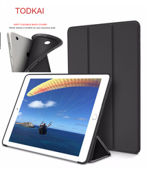 For iPad 9.7 2018/2017 Silicone Case Magnetic Case for ipad air 1 air 2 Smart Cover Soft TPU Case PU Flip Stand Auto Sleep/Wake