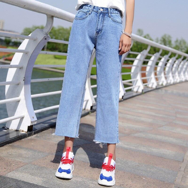 MAM Для женщин джинсы рваные, с дырками на коленях стройная женщина джинсы для девочек стрейч Высокая Талия обтягивающие джинсы женские брюк...