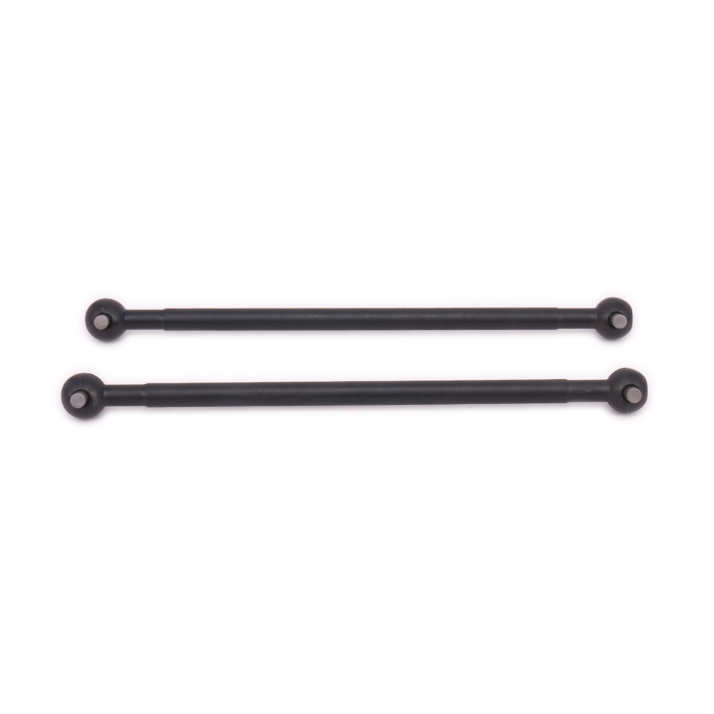2PCS Iron Black #45 Steel Silver Dogbone Drive Shaft 8x97.2mm For Rc Hobby Model Car 1/1 ...