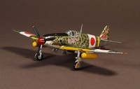 WM 1:72 Alloy Finished Aircraft Military Model Japan KI 61 Flying Swallow APF0021 Fighter Model in World War II