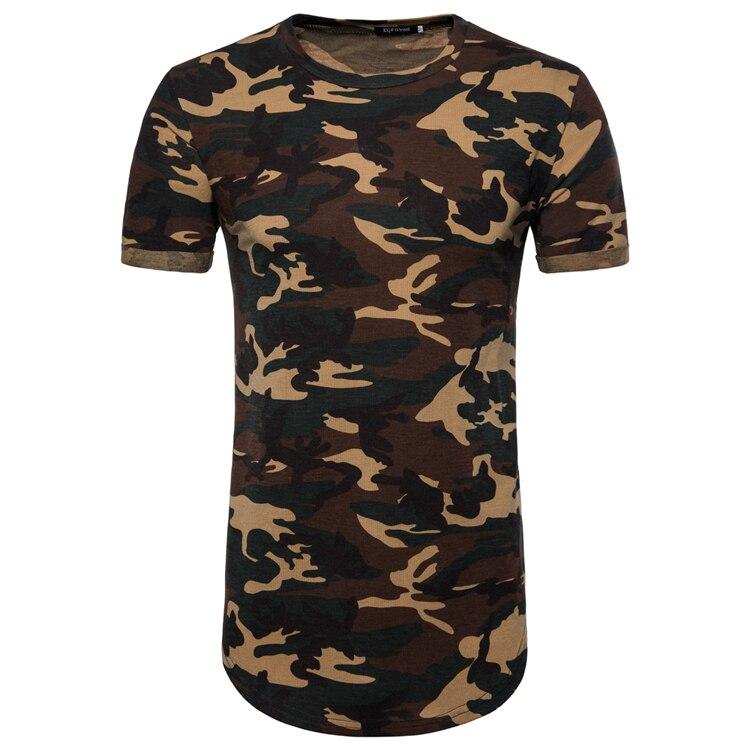 2018 extend hip hop street T-shirt wholesale fashion brand t shirts men summer Camo short sleeve oversize design hold hand