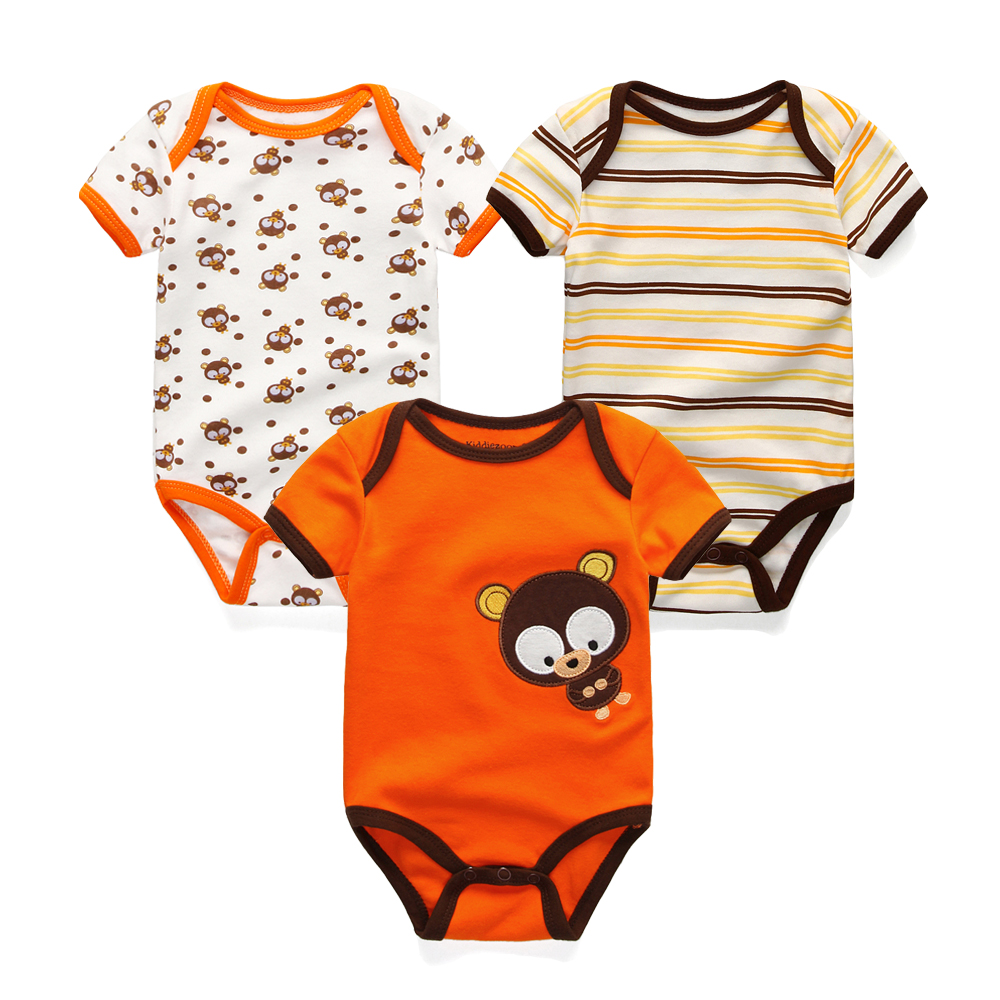 3PCS-Newborn-Baby-Rompers-Unisex-Infant-Clothes-Cotton-Short-Sleeves-Baby-Boy-Girl-Clothing-Cute-Cartoon-O-Neck-Striped-0-9M-4