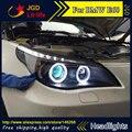 Auto Часть Стиль СВЕТОДИОДНЫЕ Головки Лампы для BMW E60 520 523 525 530 светодиодные фары drl hid Би-Ксеноновые Линзы низкой луч