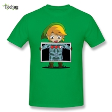 The Legend Of Zelda T Shirt Funny Design Links X-ray T-shirt Cotton O-neck Tee Shirts