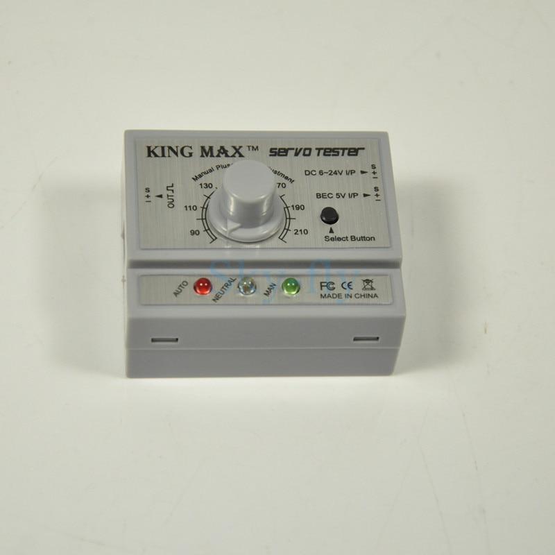 KINGMAX MULTIFONCTIONNEL ESC SERVO TESTEUR KM8008 15mA 50.5mm * 40mm * 24mm