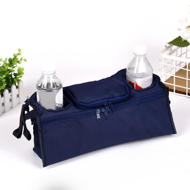 Baby Stroller Bag Newborn Nappy Bags Outdoor Carriage Hanging Bottle Storage Wheelchair Organizer Portable Maternity Bag