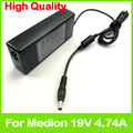 19V 4.74A 90W laptop ac adapter for Medion Akoya MD98729 MD98730 MD98731 MD98740 MD98760 MD98761 MD98762 MD98764 MD98770 charger