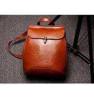 Luufan Для женщин рюкзаки для девочек подростков ранцы кожаный рюкзак женский bagpack ноутбук рюкзак женский кожаный